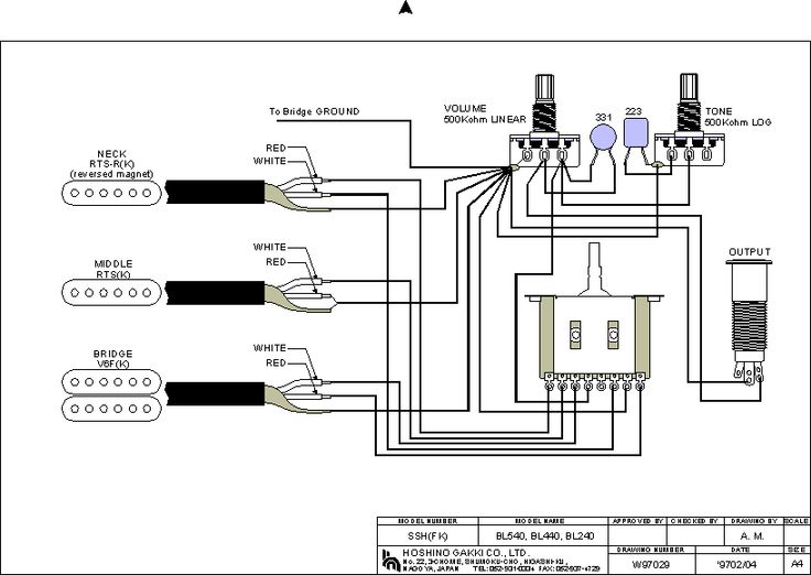 art 320 humbucker wiring diagram