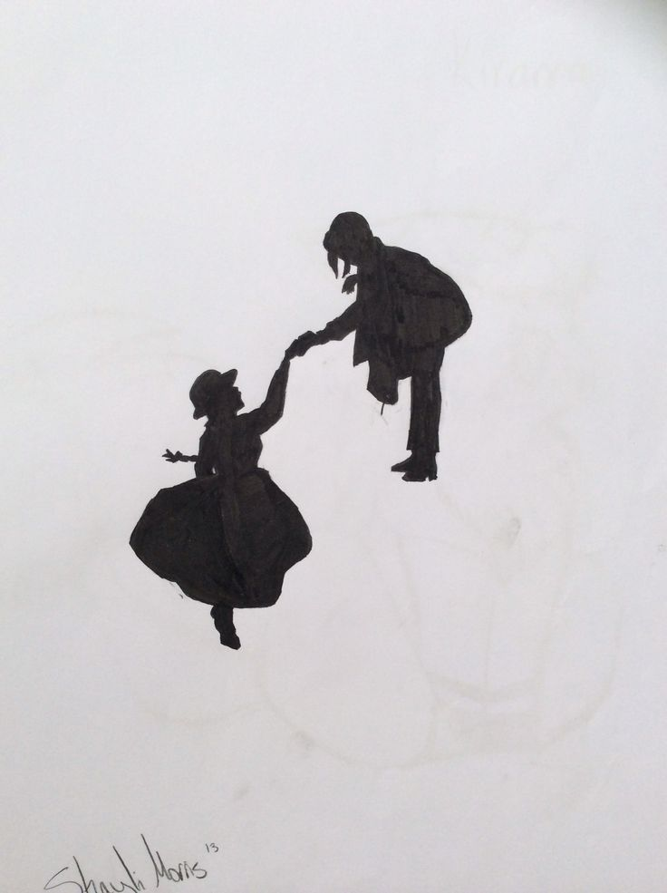 Fma Wallpaper Quotes Silhouette Of Howl And Sophie Howls Moving Castle With