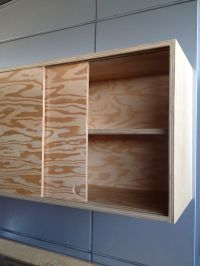 Plywood Garage Cabinets - WoodWorking Projects & Plans
