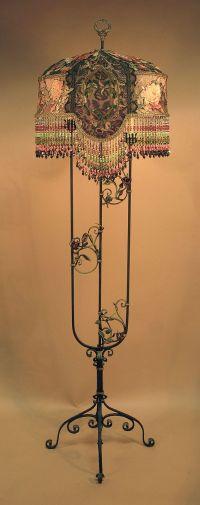 Vintage Victorian Floor Lamp | www.imgkid.com - The Image ...