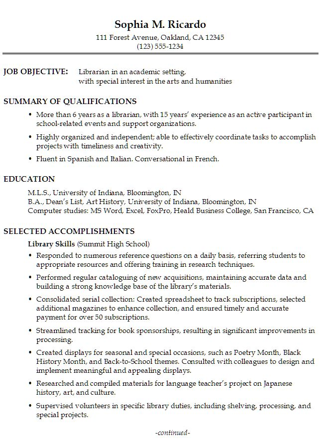 Functional Resume Layout Functional Resume Template, Functional