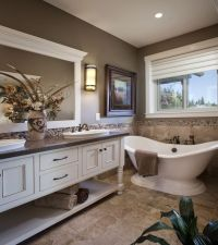 Winlock Parade Home Master Bath - Spa-like master bathroom ...