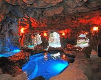 Grotto in your own backyard...WOW!! | Dream home ideas ...