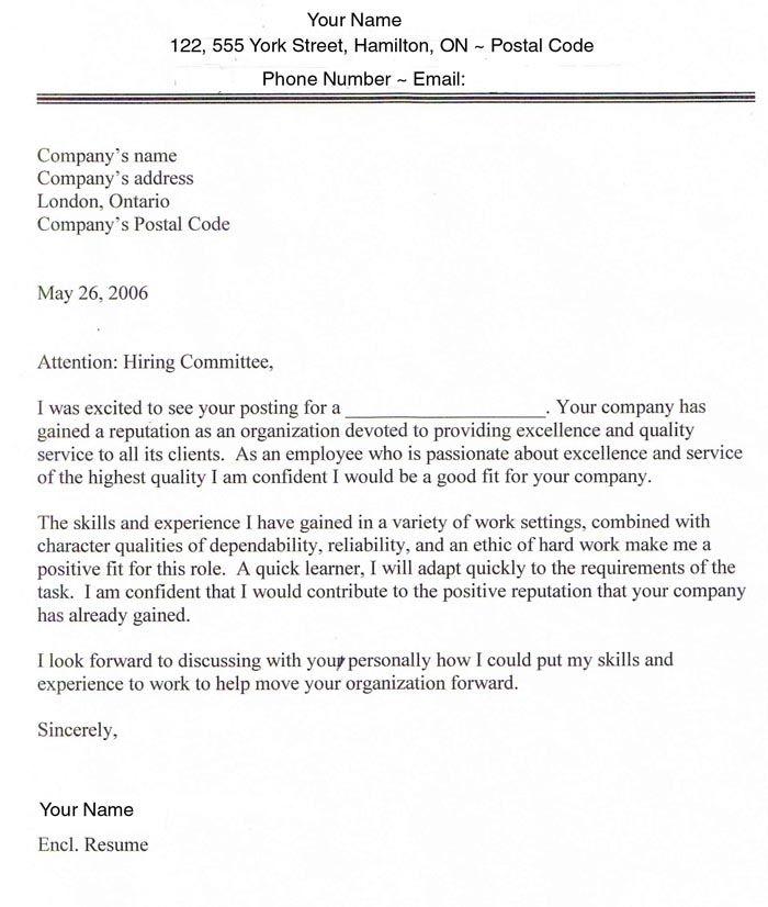 it job cover letter cover letter cover letter sample for resume work cover letter