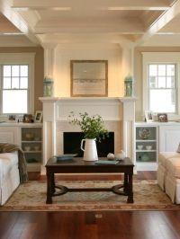 Craftsman Style Living Room Design, Pictures, Remodel ...