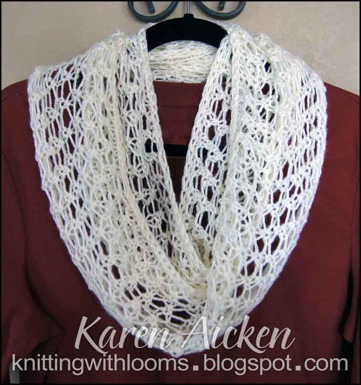 Knitting Loom Patterns For Scarves Erieairfair
