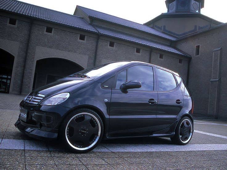 Cool Modified Cars Wallpapers Mercedes Benz W168 A160 By Wald Mbhess Mbtuning