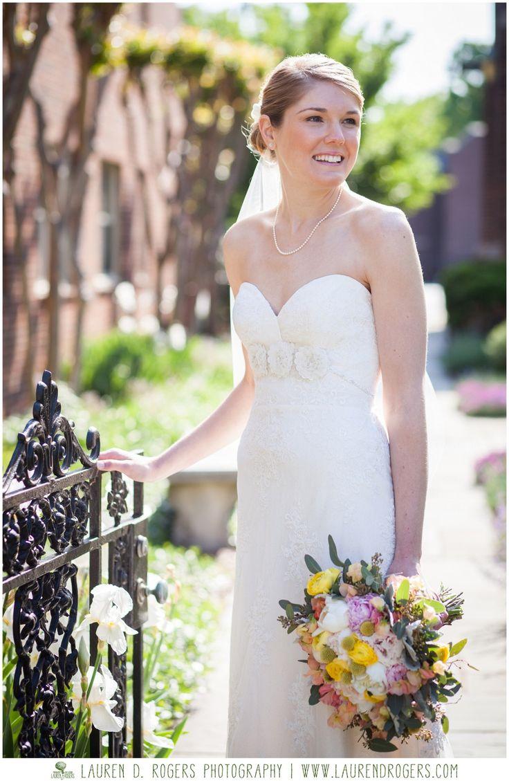 bridal portrait wedding dresses richmond va bridal portraits lace wedding dress Seafoam pink and yellow summer wedding outdoor