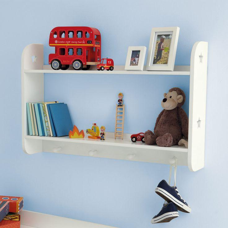 Star Wall Shelves With Hooks Bookcases Bookshelves