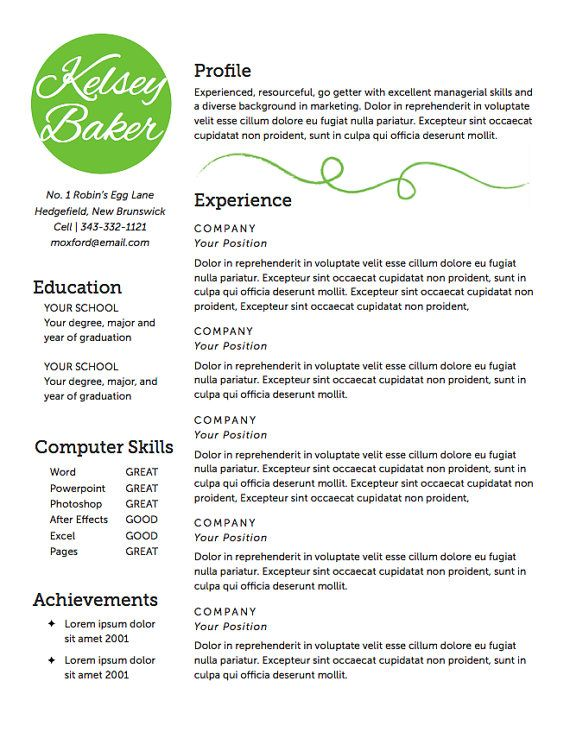 Bookkeeper Assistant Resume Examples Cover Letter Examples Resume Template Diy Resume The Baker Resume Design