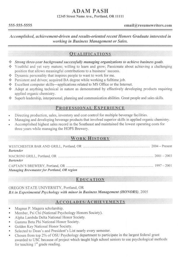 sample resume shift supervisor
