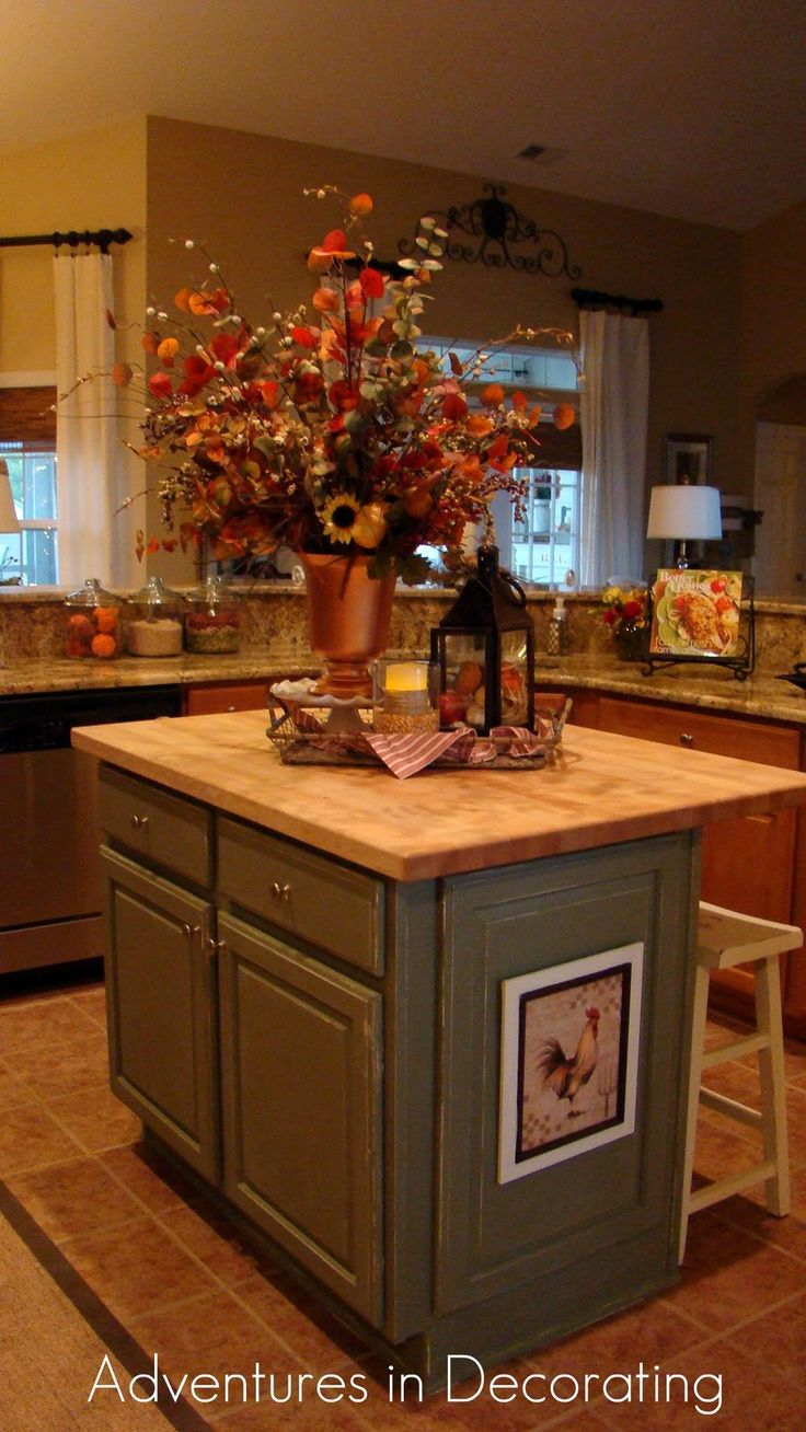 Kitchen Island Decorating Ideas Best 20+ Kitchen Island Decor Ideas On Pinterest | Kitchen