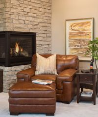 17 best ideas about Leather Chair With Ottoman on ...