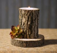 25+ best ideas about Log Candle Holders on Pinterest ...