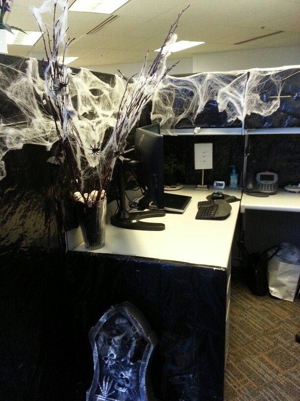 25+ best ideas about Halloween Cubicle on Pinterest