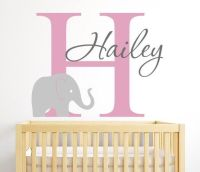 1000+ ideas about Elephant Wall Decal on Pinterest | Name ...