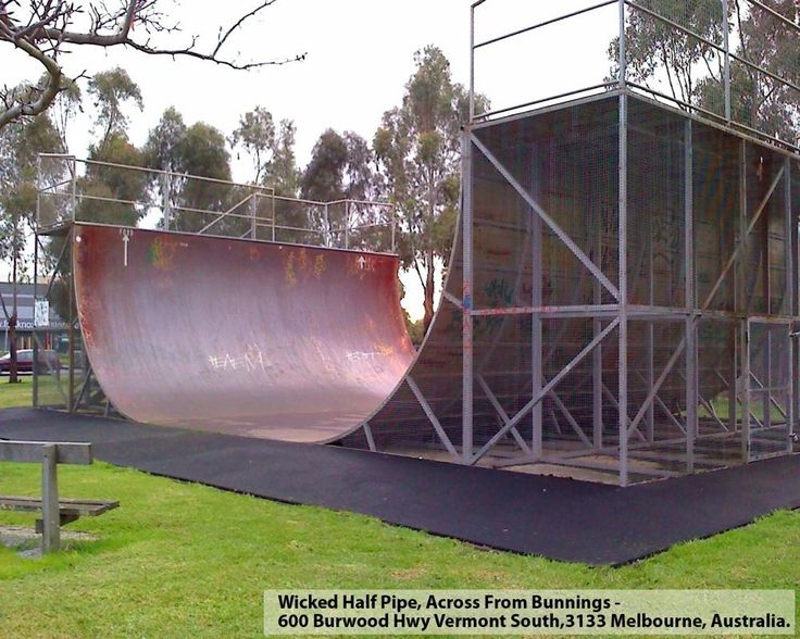 Wicked Halfpipe in Melbourne Halfpipe in Australia