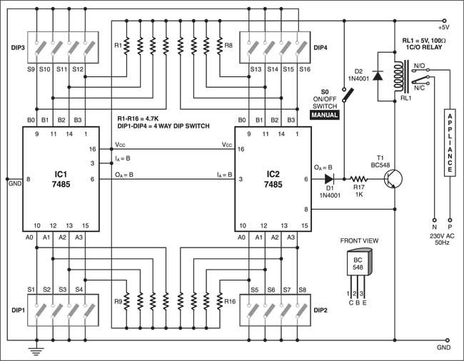 arduino rc car transmitter schematic