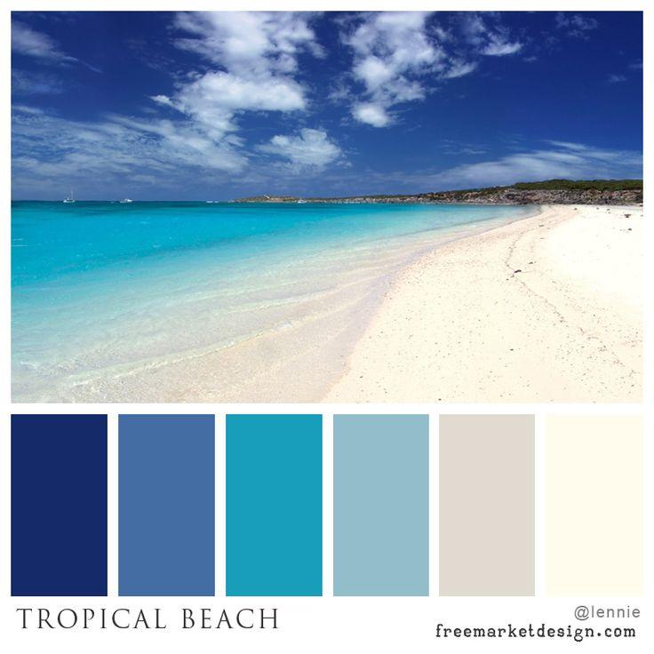 1000+ Ideas About Beach Color Schemes On Pinterest | Ocean Color
