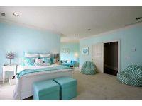 Tween room, teal, zebra accents   Girl Bedroom Ideas ...
