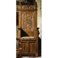gothic throne chair | Grab A Seat | Pinterest | Throne ...