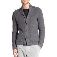 Shawl Collar Cardigan Sweaters For Men