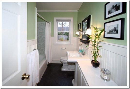 Adding beadboard to a bathroom our cape cod house sand for Adding bathroom to house