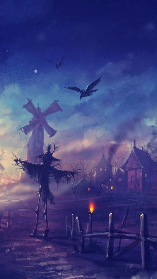 Fall Themed Iphone Wallpapers Halloween Night On Pinterest Discover The Best Trending