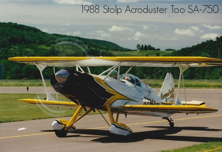 Trade A Plane Airplanes For Sale 1988 Stolp Acroduster Too Sa-750 Available At Www.trade-a