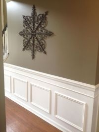 Diy: Faux Wainscoting Added To My Builder's Grade Home ...