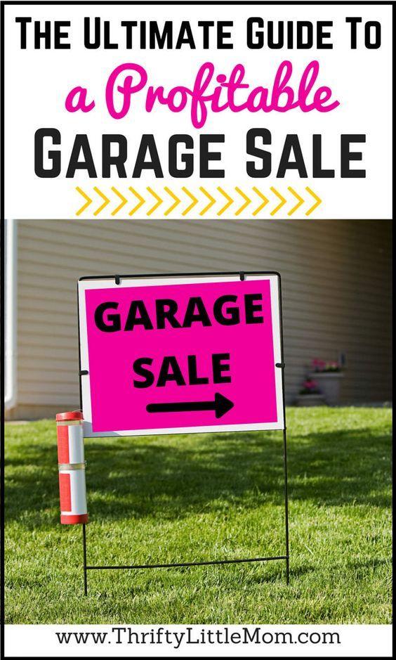 free garage sale signs