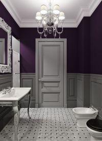 17 Best ideas about Dark Purple Bathroom on Pinterest ...