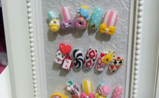 97 Best Images About 3 D Nail Art On Pinterest Nail Art Style Nails And 3d Acrylic Nails