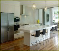 contemporary kitchen islands with seating | Modern Kitchen ...