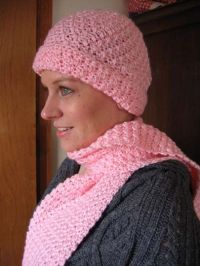 Free Crochet Baby Hat And Scarf Pattern ~ Dancox for
