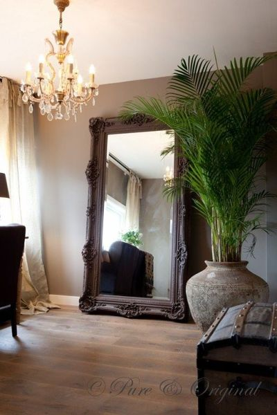 25+ best ideas about Oversized Mirror on Pinterest | Large hallway furniture, Large black mirror ...