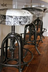Cowhide Bar Stools | Really Western | Pinterest ...