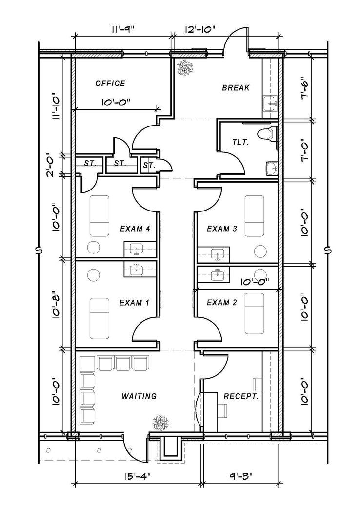 Medical Office Floor Plan Samples Decorating Inspiration 12423