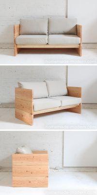 Best 20+ Diy sofa ideas on Pinterest | Diy couch, Rustic ...
