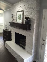 Best 25+ White stone fireplaces ideas on Pinterest