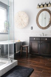 25+ best ideas about Dark wood bathroom on Pinterest ...
