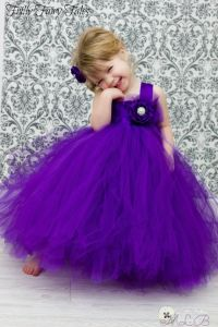 25+ best ideas about Purple flower girl dresses on ...