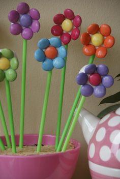 Marshmallow flowers cakes pinterest marshmallow