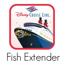 Fish extender gifts received on a disney magic cruise