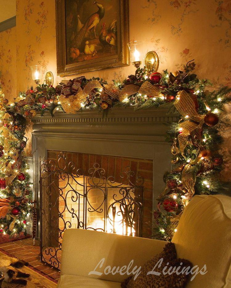 16 Very Merry Christmas Diy Decoration Ideas Christmas room - christmas decorations for mantels