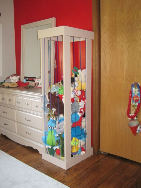 Aufbewahrung Kinderzimmer - praktische Designideen einrichten - kinderzimmer praktisch einrichten