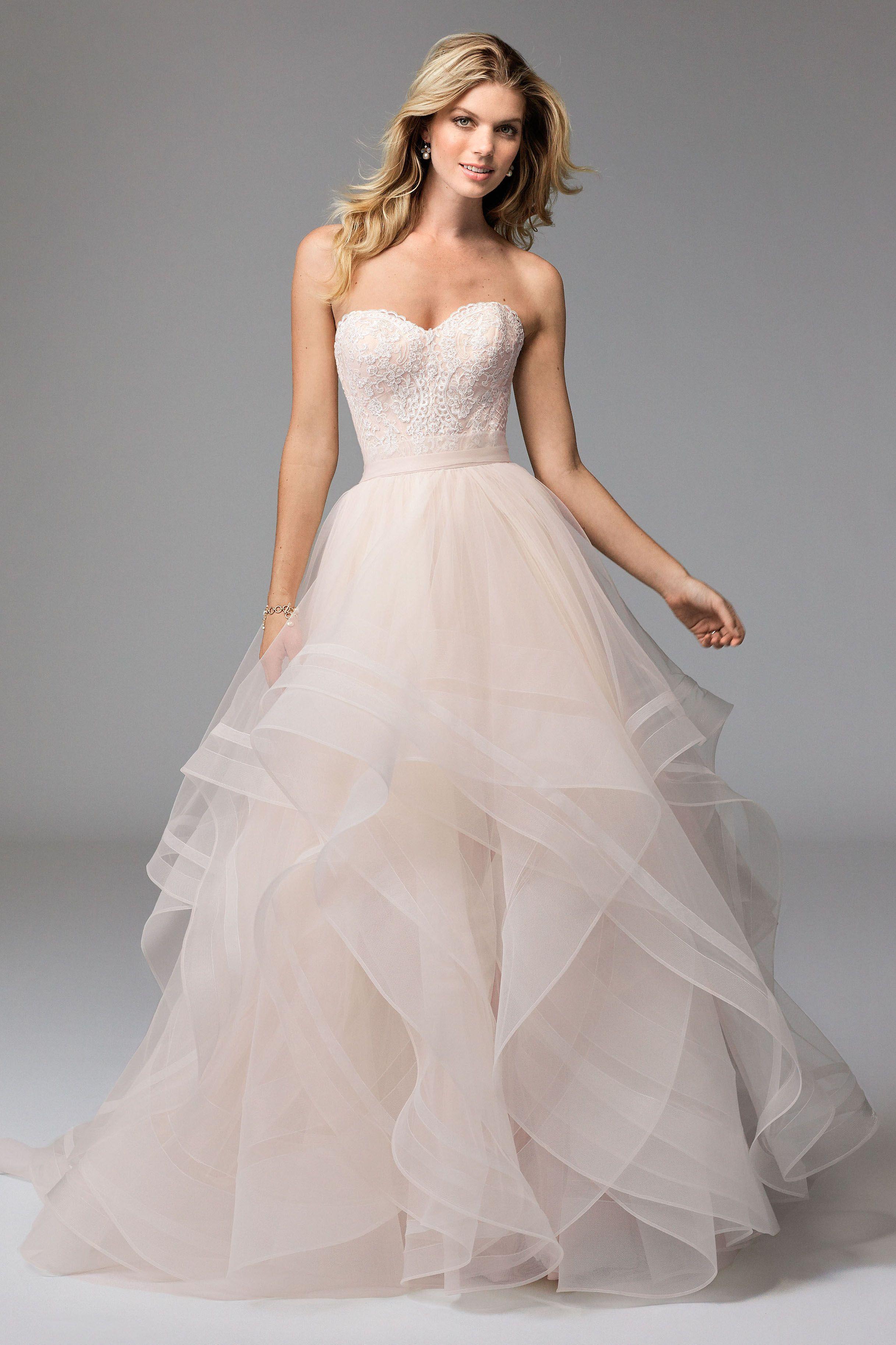 corset style wedding dresses watterswtoo Wtoo Style Lula Corset Effie Skirt Blush Bridal Separates