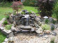 Download Full Size Image: Bar Design Backyard Waterfalls ...