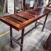 Barn-Board-HighTop-Pipe-Base-Table.jpg (640640) | project ...
