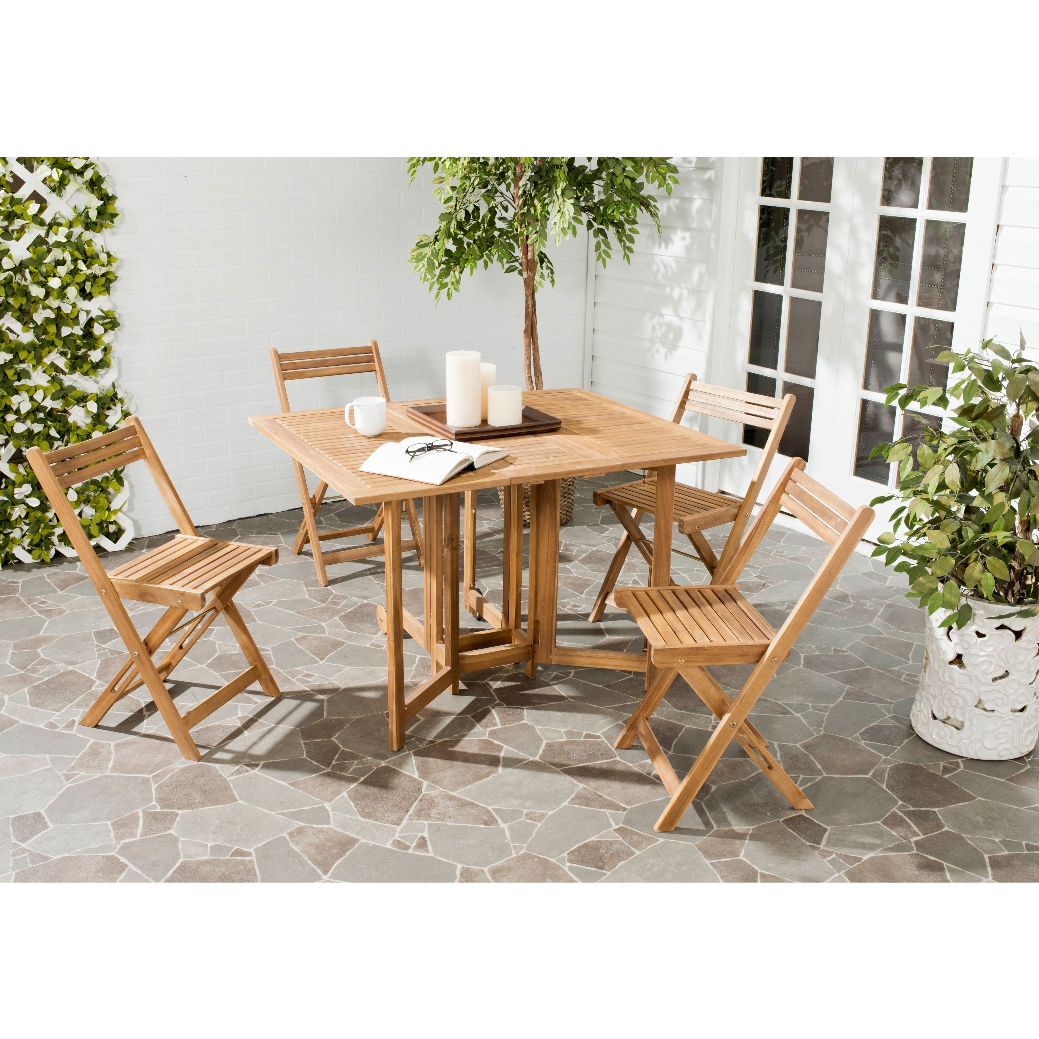 Space Saver Dining Set An Ingenious Space Saver Arvin Outdoor Dining Table And
